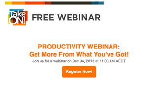 Productivity Seminar