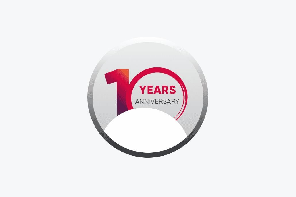 10 Year Annivesary